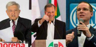 Inician las campañas para los candidatos a la presidencia de México