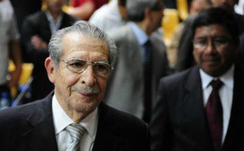 Fallece Efraín Ríos Montt, exdictador de Guatemala