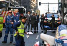 Joven ataca con cuchillo a varias personas en Sidney