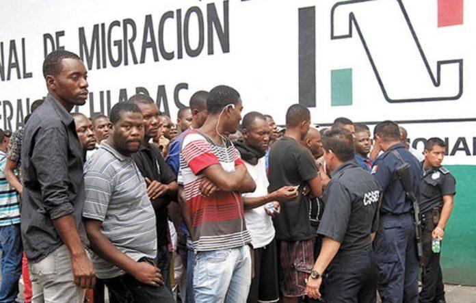 No habrá libre tránsito para migrantes africanos: INM