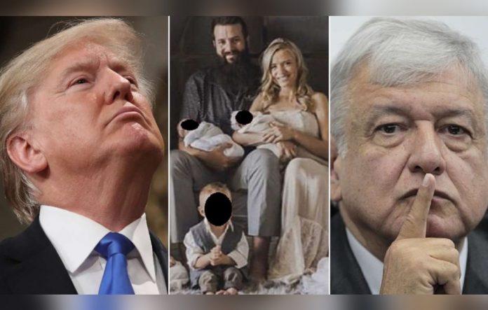 Dialoga AMLO con Trump por caso LeBarón y agradece apoyo