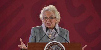 Sánchez Cordero llama a estrechar lazos familiares en cuarentena por COVID-19